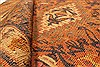 Kilim Brown Runner Hand Knotted 49 X 99  Area Rug 100-28101 Thumb 1
