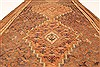 Kilim Brown Runner Hand Knotted 49 X 99  Area Rug 100-28101 Thumb 4