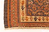 Kilim Brown Runner Hand Knotted 49 X 99  Area Rug 100-28101 Thumb 7