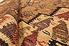 Kilim Brown Runner Hand Knotted 39 X 90  Area Rug 100-28104 Thumb 1