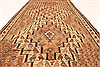Kilim Brown Runner Hand Knotted 39 X 90  Area Rug 100-28104 Thumb 4