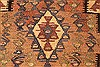Kilim Brown Runner Hand Knotted 39 X 90  Area Rug 100-28104 Thumb 6