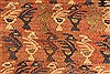 Kilim Brown Runner Hand Knotted 39 X 90  Area Rug 100-28104 Thumb 7