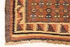 Kilim Brown Runner Hand Knotted 39 X 90  Area Rug 100-28104 Thumb 8