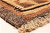 Kilim Brown Runner Hand Knotted 39 X 90  Area Rug 100-28104 Thumb 9