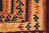 Kilim Brown Runner Hand Knotted 45 X 102  Area Rug 100-28105 Thumb 10