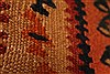 Kilim Brown Runner Hand Knotted 45 X 102  Area Rug 100-28105 Thumb 11