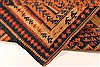 Kilim Brown Runner Hand Knotted 45 X 102  Area Rug 100-28105 Thumb 2