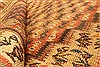 Kilim Beige Runner Hand Knotted 49 X 105  Area Rug 100-28106 Thumb 1