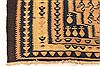 Kilim Blue Runner Hand Knotted 43 X 93  Area Rug 100-28108 Thumb 6
