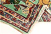 Kashmar Green Hand Knotted 22 X 29  Area Rug 100-28111 Thumb 1