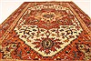 Serapi Brown Hand Knotted 40 X 61  Area Rug 250-28115 Thumb 4