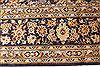 Kashan Beige Hand Knotted 98 X 134  Area Rug 100-28123 Thumb 6