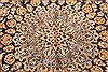 Kashan Beige Hand Knotted 98 X 134  Area Rug 100-28123 Thumb 7