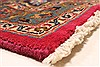 Kashmar Red Hand Knotted 96 X 130  Area Rug 100-28125 Thumb 11