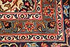 Kashmar Red Hand Knotted 96 X 130  Area Rug 100-28125 Thumb 14