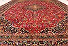 Kashmar Red Hand Knotted 96 X 130  Area Rug 100-28125 Thumb 7