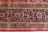 Kashmar Red Hand Knotted 96 X 130  Area Rug 100-28125 Thumb 8