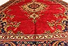 Tabriz Beige Hand Knotted 93 X 125  Area Rug 100-28126 Thumb 8