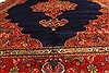 Tabriz Blue Hand Knotted 98 X 127  Area Rug 100-28128 Thumb 17