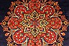 Tabriz Blue Hand Knotted 98 X 127  Area Rug 100-28128 Thumb 19