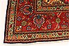 Tabriz Blue Hand Knotted 98 X 127  Area Rug 100-28128 Thumb 20
