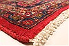 Kashan Red Hand Knotted 99 X 125  Area Rug 100-28129 Thumb 11