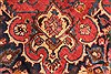 Kashan Red Hand Knotted 99 X 125  Area Rug 100-28129 Thumb 13