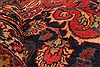 Kashan Red Hand Knotted 99 X 125  Area Rug 100-28129 Thumb 4
