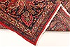 Kashan Red Hand Knotted 99 X 125  Area Rug 100-28129 Thumb 5