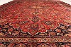 Kashan Red Hand Knotted 99 X 125  Area Rug 100-28129 Thumb 7
