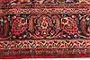 Kashan Red Hand Knotted 99 X 125  Area Rug 100-28129 Thumb 8
