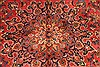 Kashan Red Hand Knotted 99 X 125  Area Rug 100-28129 Thumb 9
