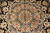 Kashan Beige Hand Knotted 117 X 172  Area Rug 100-28130 Thumb 12