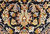 Kashan Beige Hand Knotted 117 X 172  Area Rug 100-28130 Thumb 15