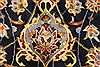 Kashan Beige Hand Knotted 117 X 172  Area Rug 100-28130 Thumb 2