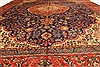 Tabriz Beige Hand Knotted 97 X 128  Area Rug 100-28132 Thumb 10