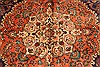 Tabriz Beige Hand Knotted 97 X 128  Area Rug 100-28132 Thumb 12