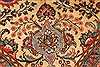 Tabriz Beige Hand Knotted 97 X 128  Area Rug 100-28132 Thumb 1