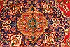 Tabriz Blue Hand Knotted 97 X 133  Area Rug 100-28135 Thumb 12