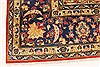 Isfahan Red Hand Knotted 92 X 134  Area Rug 100-28136 Thumb 10