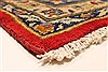 Isfahan Red Hand Knotted 92 X 134  Area Rug 100-28136 Thumb 11