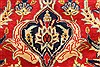 Isfahan Red Hand Knotted 92 X 134  Area Rug 100-28136 Thumb 13