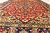 Isfahan Red Hand Knotted 92 X 134  Area Rug 100-28136 Thumb 7