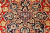 Isfahan Red Hand Knotted 92 X 134  Area Rug 100-28136 Thumb 9