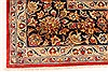 Isfahan Red Hand Knotted 98 X 131  Area Rug 100-28137 Thumb 10