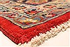 Isfahan Red Hand Knotted 98 X 131  Area Rug 100-28137 Thumb 11