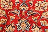 Isfahan Red Hand Knotted 98 X 131  Area Rug 100-28137 Thumb 12