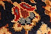 Isfahan Red Hand Knotted 98 X 131  Area Rug 100-28137 Thumb 1