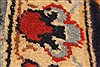 Isfahan Red Hand Knotted 98 X 131  Area Rug 100-28137 Thumb 3